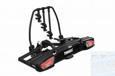 Tow bar Bike Rack Thule VeloSpace XT 3 Black 939001 - Australia Tow Bars & Performance - Official Thule Distributor in Australia - australiatowbars.com.au