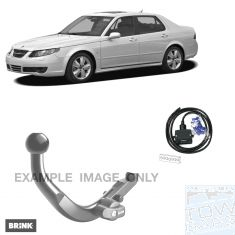 Saab 9-5 Fixed Towbar kit BRINK
