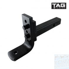 Adjustable Tow Ball Mount 2000Kg TAG - Australia Tow Bars & Performance - australiatowbars.com.au