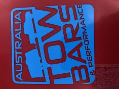 Australia Towbars & Performance Blue Sticker - Australia Tow Bars & Performance - australiatowbars.com.au
