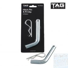 Hitch Pin & R-Clip TAG - Australia Tow Bars & Performance - australiatowbars.com.au