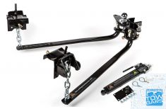 Weight Distribution Hitch 360kg 800lb Round Bar with Sway Control  909928 Milford Industries - Australia Towbars & Performance - australiatowbars.com.au