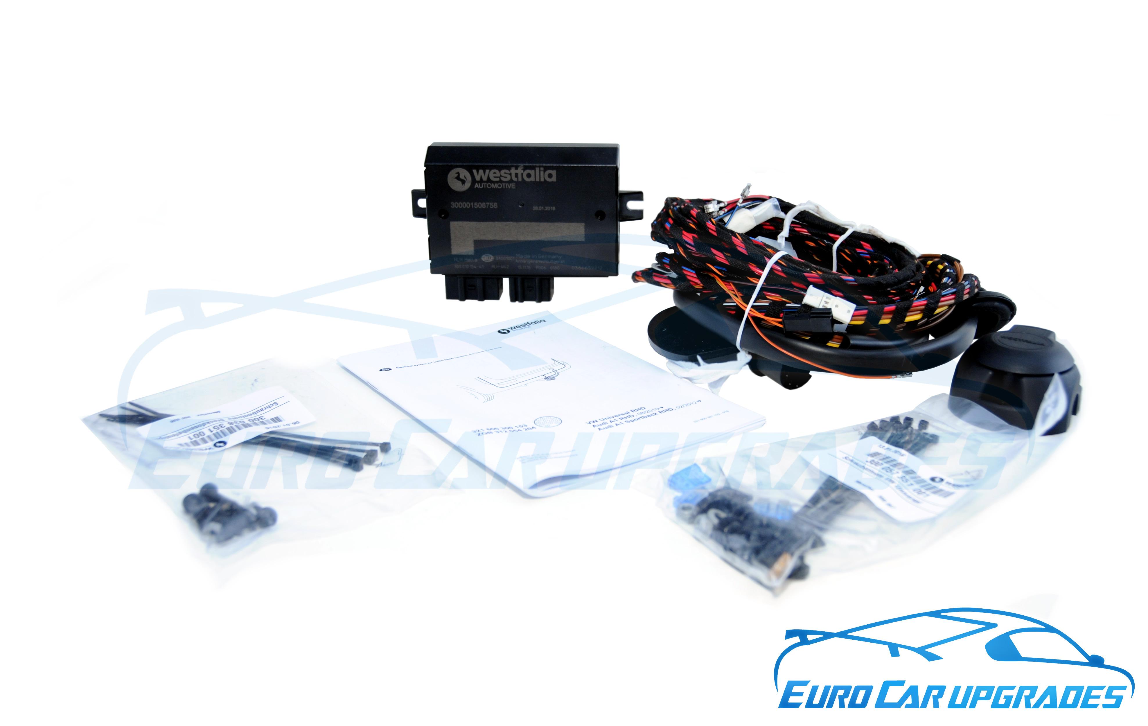 audi a1 tow bar wiring kit 13 pin wiring module kit led rh australiatowbars com au westfalia detachable towbar fitting instructions