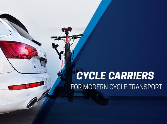 Wide range of Thule and Westfalia bike carriers